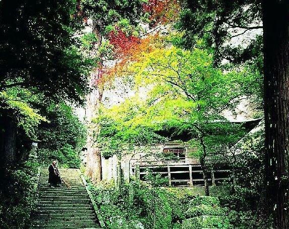 国東(文殊仙寺・岩戸耶馬)の紅葉