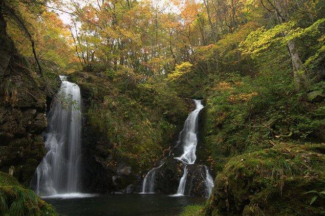 山乗渓谷の紅葉