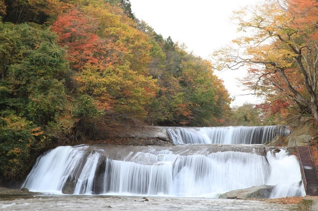 滑津大滝の紅葉