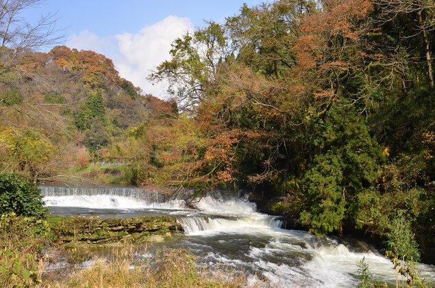 稲葉山・宮島峡県定公園の紅葉