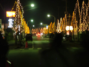 JR陸前豊里駅前