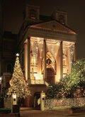 2016年赤坂ル・アンジェ教会 クリスマスイルミネーション