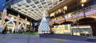 アミュ広場、鹿児島中央駅東口
