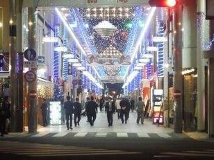 宮崎市橘通り商店街周辺