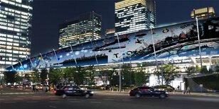 東京駅八重洲口グランルーフ