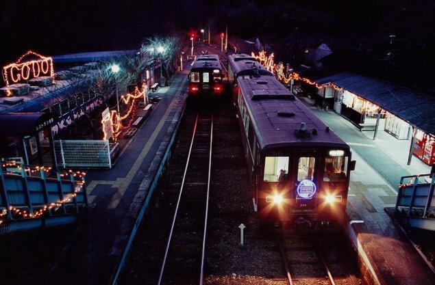 わたらせ渓谷鐵道各駅(桐生駅から間藤駅までの間の15駅)