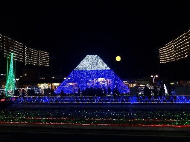 大月駅前広場周辺