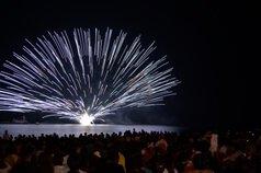 かっさんさん投稿の第33回くろべ生地浜海上花火大会