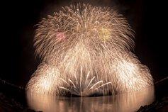takaさん投稿の第42回香住ふるさとまつり海上花火大会