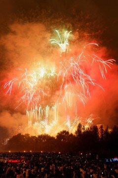 北海道新聞社創業130周年UHB開局45周年記念 2017道新・UHB花火大会