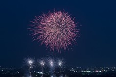 CHUさん投稿の第63回おんぱら祭奉納花火大会