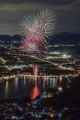 yukka110 さん投稿の第31回おがせ池夏まつり花火大会