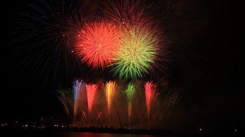 函館開港158周年記念 函館港まつり協賛 第62回道新花火大会