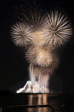 OKATOKIさん投稿のエキサイティング花火2019 第44回 江戸川区花火大会