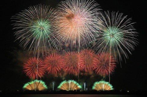 第12回古河花火大会~わたらせの夏の夜空に咲く大輪~