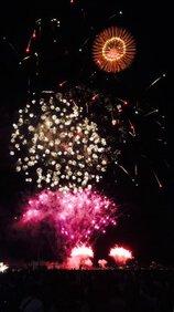ミナさん投稿の第32回関門海峡花火大会