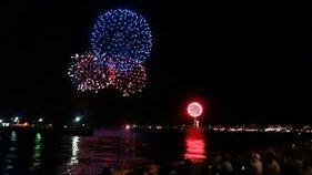 じぇいこりんさん投稿の第32回関門海峡花火大会