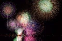 クニタニ55サヤカさん投稿の【2019年開催なし】南あわじ市市民まつり 福良湾海上花火大会