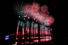 かもんチャンさん投稿の【2019年開催なし】第73回京都南丹市花火大会