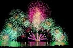 バートン財団さん投稿の第42回香住ふるさとまつり海上花火大会