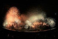 夏元気さん投稿の第72回清水みなと祭り 海上花火大会