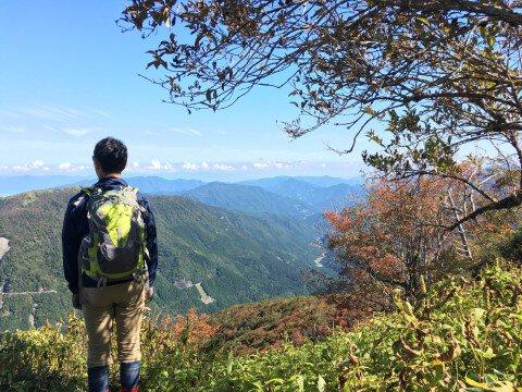 剣山の紅葉写真