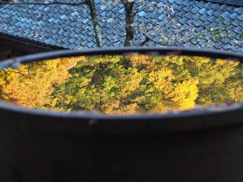 永平寺の紅葉写真