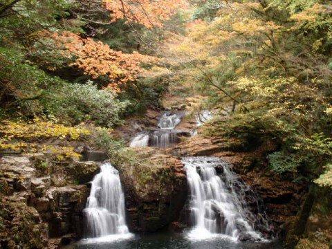 赤目四十八滝の紅葉写真