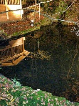 石山寺の紅葉写真