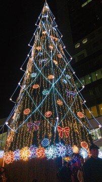 新梅田シティ・ワンダースクエアのイルミネーション写真
