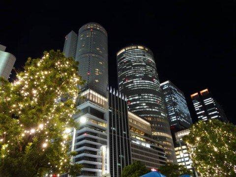名古屋駅前地区周辺の紅葉写真