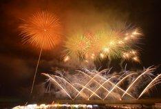 ウメタさん投稿のえびの京町温泉夏祭り花火大会
