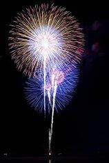 ちぎれぐもさん投稿の令和改元記念第67回伊勢神宮奉納全国花火大会