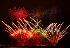 琥太郎さん投稿の創刊20周年記念 函館新聞社 函館港花火大会