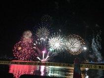 みゆさん投稿の岩国港みなと祭花火大会