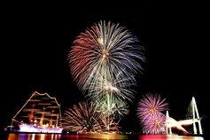 ねこ吉さん投稿の第55回富山新港花火大会