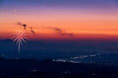 スーさん投稿の令和改元記念第67回伊勢神宮奉納全国花火大会