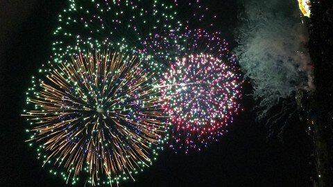 夢猫親子さん投稿の盛岡花火の祭典