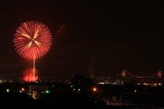 スイフトパンダさん投稿の第54回さかいで大橋まつり海上花火大会