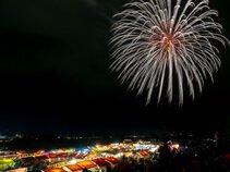 china2ristさん投稿の第68回亀岡平和祭保津川市民花火大会