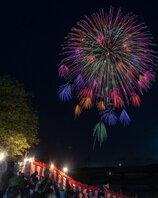 china2ristさん投稿の第138回愛知川祇園納涼祭花火大会