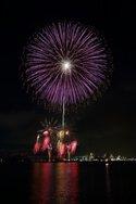 瀬戸大橋開通30周年記念 第53回さかいで大橋まつり海上花火大会