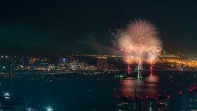 まにさん投稿の【2019年開催なし】東京花火大祭~EDOMODE~