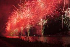 東京ゴリラさん投稿の【2019年開催なし】福山夏まつり2019 あしだ川花火大会