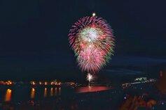 モンモンさん投稿の令和元年記念 第61回川内川花火大会