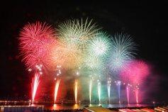masahiroさん投稿の【2019年開催なし】福山夏まつり2019 あしだ川花火大会