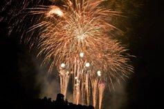 なっちゃん0715さん投稿の第68回亀岡平和祭保津川市民花火大会