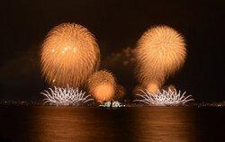 小梅さん投稿の鹿児島市制130周年記念 第19回かごしま錦江湾サマーナイト大花火大会