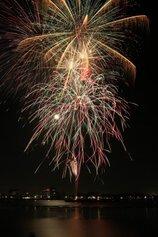 じーこさん投稿の知多市制施行50周年記念プレ事業 第6回 新舞子ビーチフェスティバル花火大会