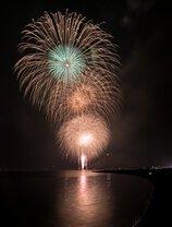 風見雄三さん投稿の山中湖「報湖祭」花火大会